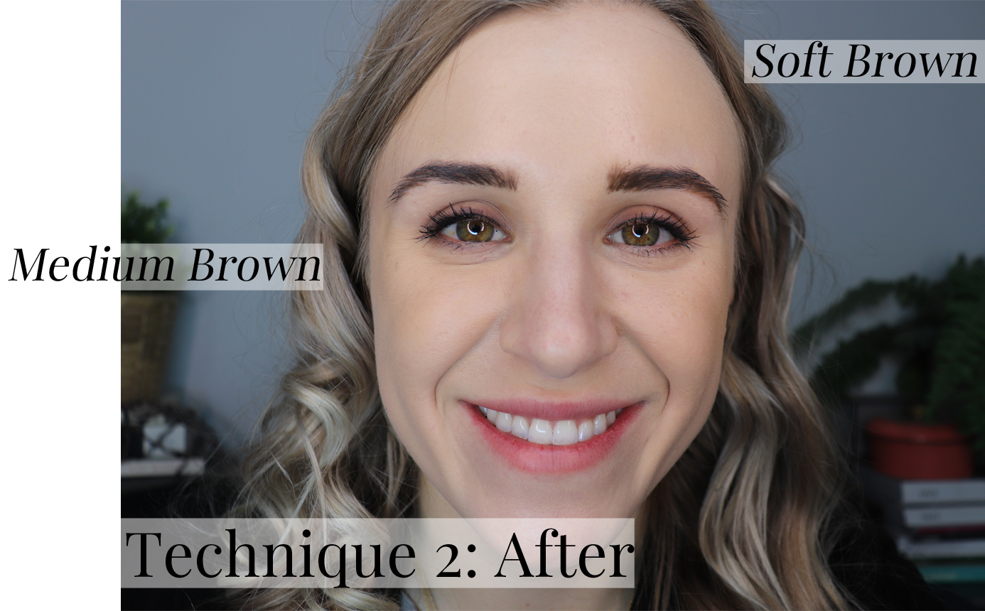 ABH Dip Brow Technique 2 After